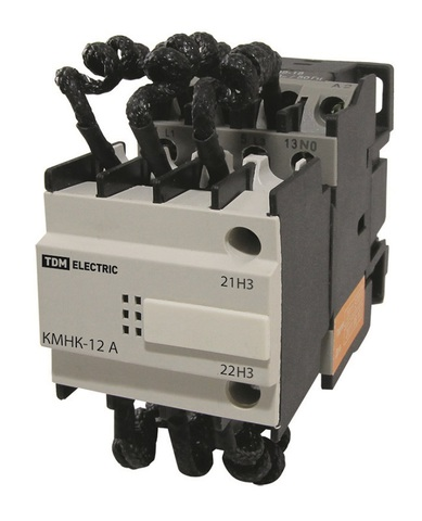 Контактор КМНК-12-230.Б 12,5кВАр 1НО;1НЗ TDM