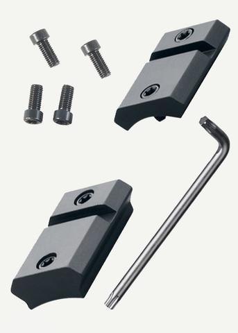 Раздельное основание Leupold QRW на Remington 700