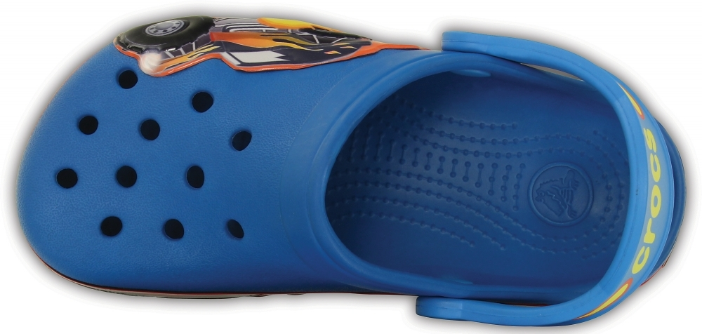 Сабо для мальчиков CROCS Monster Truck Clog Kids Ultramarine