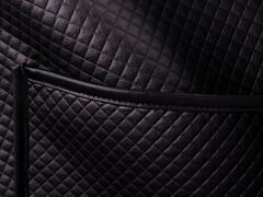 Нота. Легкая куртка больших размеров. Черный.