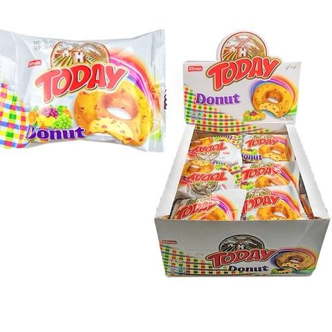 Today Donat Cake With Fruits 45GR (24х6) Донат кекс с цукатами 1кор*6бл*24шт,45гр