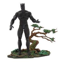 Коллекционная Фигурка Чёрная Пантера (Black Panther) - Marvel Select, Disney