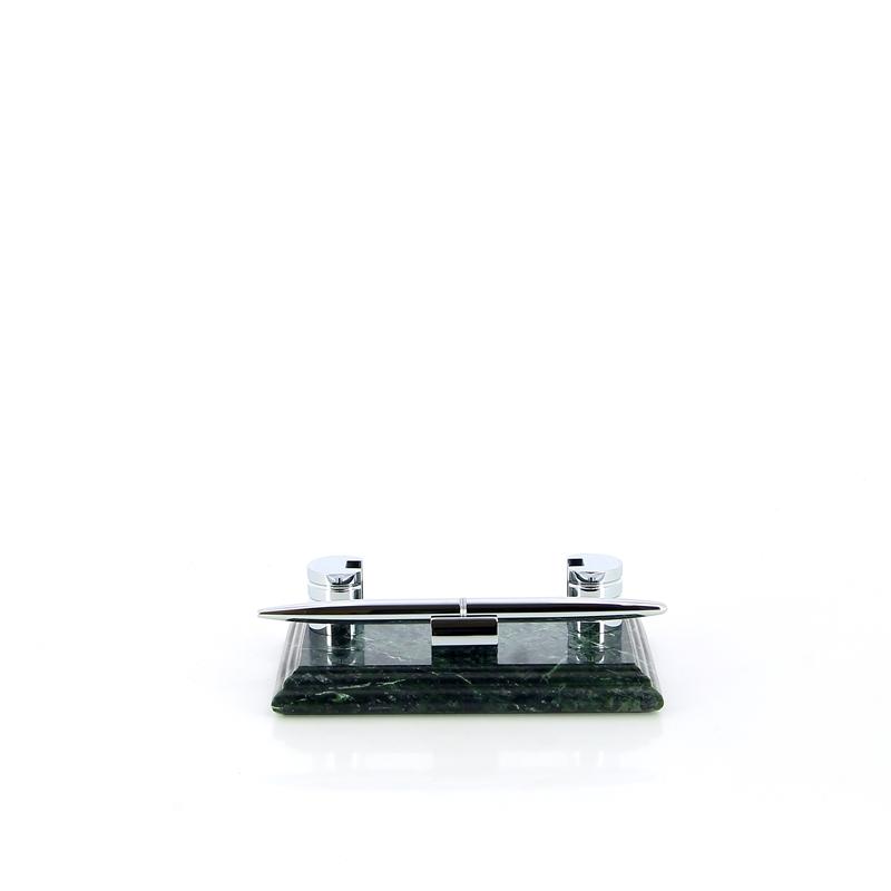 Настольный набор: ручка, держатель для визиток, 14,5 х 9 х 1,8 см, мрамор