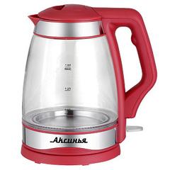 Чайник электрический 2000 Вт, 1,8 л АКСИНЬЯ КС-1001 красный