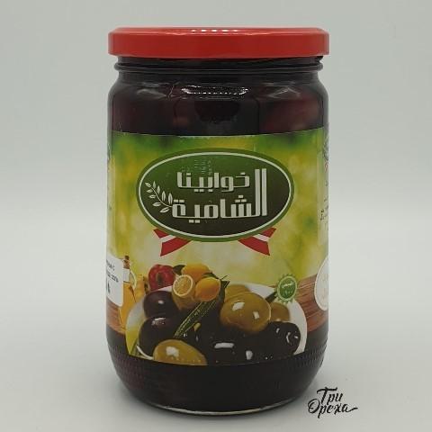Маслины с косточкой AL SHAMEA, 400 гр