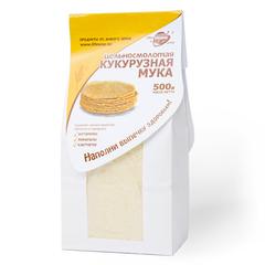 """Мука кукурузная цельносмолотая """"Образ жизни"""" 500гр"""
