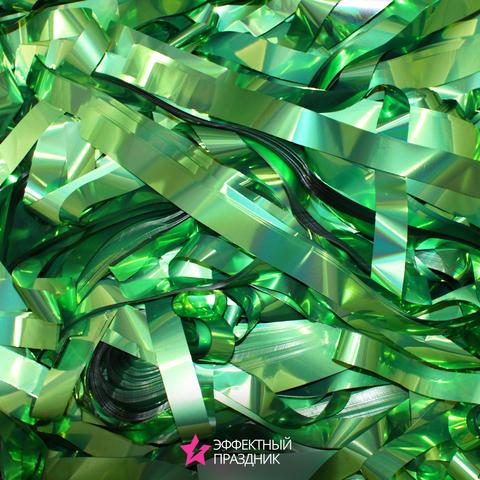 Зеленая металлизированная бумага