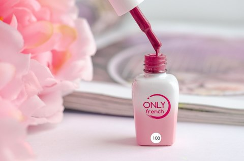 Гель-лак Only French, Red Touch №108, 7ml