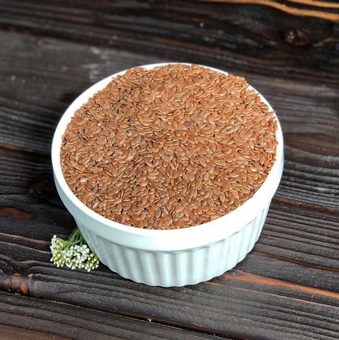 Фотография Лен семена 0,5 кг купить в магазине Афлора