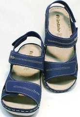 Удобные босоножки спортивные женские Inblu CB-1U Blue.