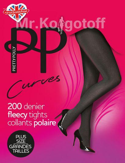 Колготки Pretty Polly Curves Fleecy 200 (ASK6)