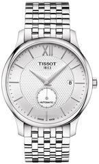 Мужские швейцарские часы Tissot Tradition Automatic Small Second T063.428.11.038.00