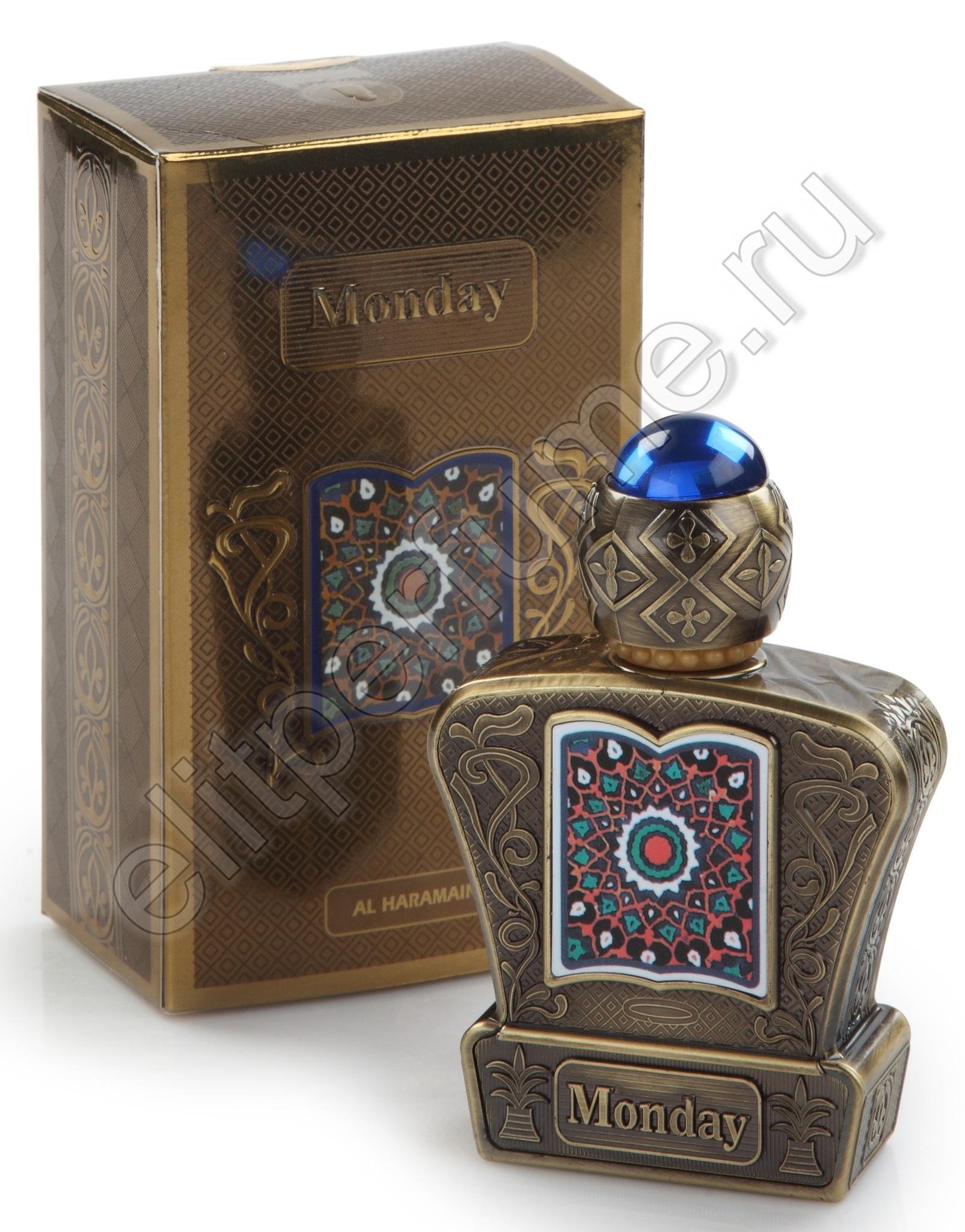 Пробники для духов Понедельник Monday 1 мл арабские масляные духи от Аль Харамайн Al Haramin Perfumes