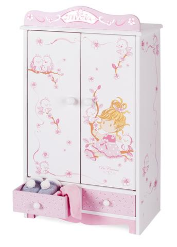 Гардеробный шкаф для куклы серии Мария
