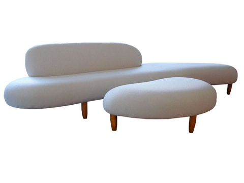 диван Noguchi Freeform Sofa&Ottoman