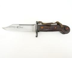ММГ штык-нож АК ШНС-001-02 (АКМ / АК74), коричн. рукоять бакелит, «Люкс»