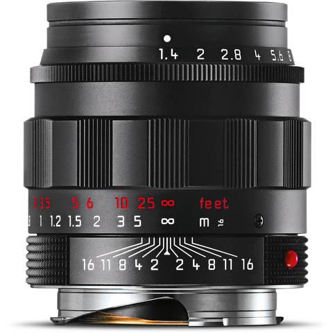 Leica Summilux-M 50mm f/1.4 ASPH (Black-Chrome Edition)