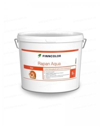 Finncolor Rapan Aqua / Финнколор Рапан Аква водный лак антисептик полуглянцевый