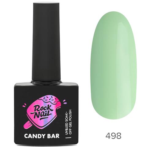 Гель-лак RockNail Candy Вar 498 Pudding At The Pool (Пудинг в бассейне)