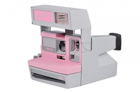 Polaroid Cool Cam Gray and Pink