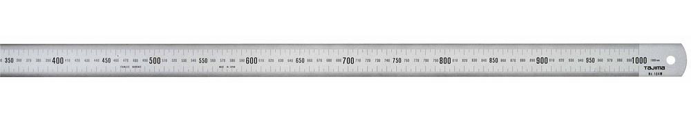 Линейка TAJIMA из нерж.стали, 1-й класс точности, 1000мм х 35мм SSRA0MC