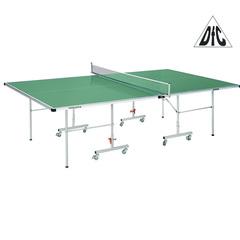 Всепогодный стол DFC TORNADO зеленый, толщина 4 мм, с сеткой