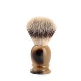 Помазок MUEHLE CLASSIC, фибра высшей категории Silvertip, смола, цвет рога, размер S (39 K 252)