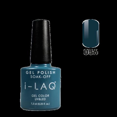 Гель лак для ногтей I-laq  036, 7,3 мл.