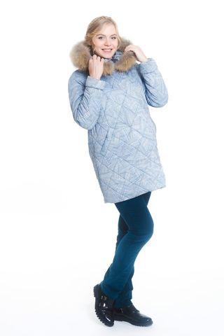 Куртка для беременных 05199 голубой