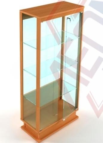 ВМП-800 Витрина музейная стеклянная с подиумом