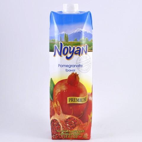 Сок гранатовый прямого отжима без сахара Noyan, 1л