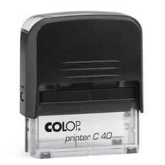 Оснастка для штампов пластик. Pr. C40 23х59мм (аналог 4913) Colop
