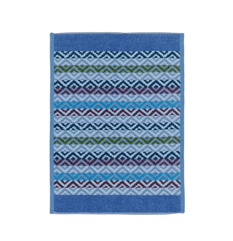 Полотенце 37x50 Feiler Square джинсово-голубое