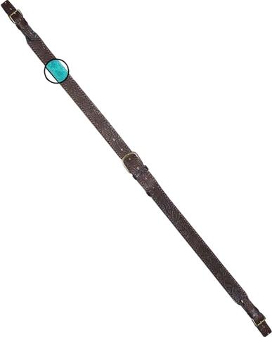 Ремень ружейный регулируемый кожа/велюр