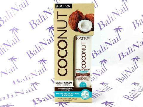 Kativa COCONUT Восстанав-я крем-сыворотка с органическим кокос. маслом для поврежден. Волос, 200мл