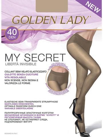 Колготки My Secret 40 Golden Lady