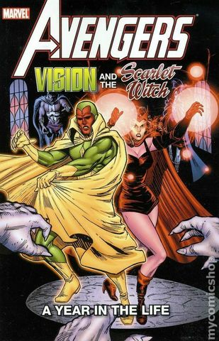Avengers: Vision and the Scarlet Witch A Year in Life TPB