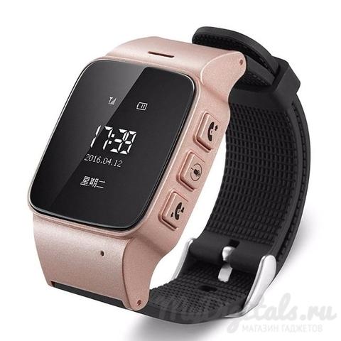 Часы с GPS трекером Smart Baby Watch EW100 (Розовый) (для подростков и пожилых людей)
