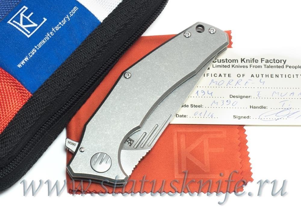 Нож CKF MORRF-4 М390 Евгений Муан