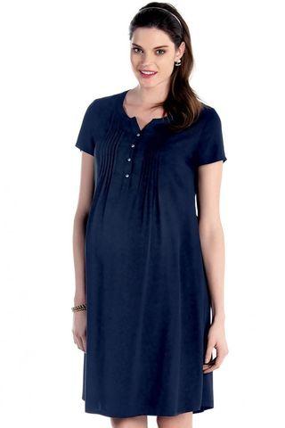 Платье 07589 синий