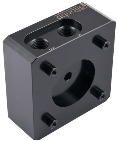 Aqua-Computer Pump adapter for DDC pumps, compatible with aqualis base, G1/4