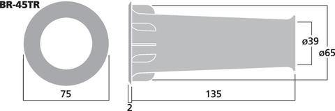 Фазоинвертор BR-45TR