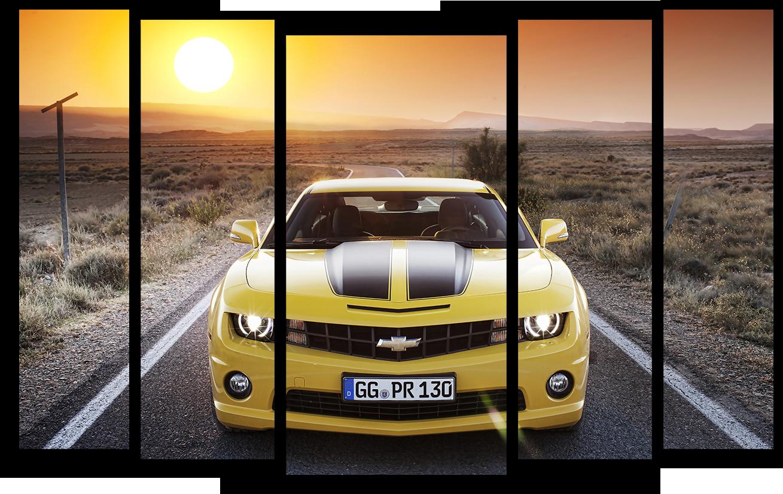 """Модульные картины Модульная картина """"Chevrolet Camaro"""" М2722.png"""