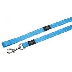 Rogz нейлоновый поводок Medium ширина 1,6 см длина 1,8 м голубой