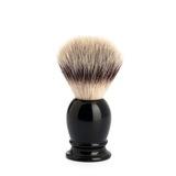Помазок MUEHLE CLASSIC, фибра высшей категории Silvertip, черная смола, размер S (39 K 256)