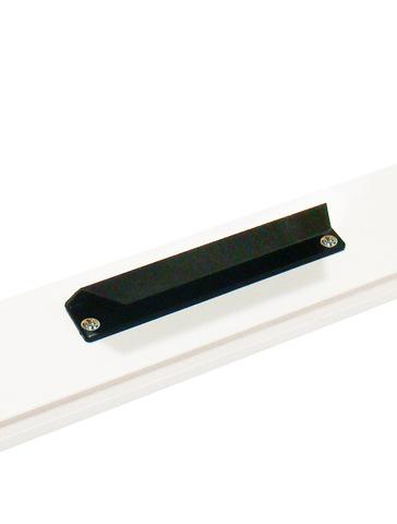 Ручки ПВХ с магнитной защелкой черная