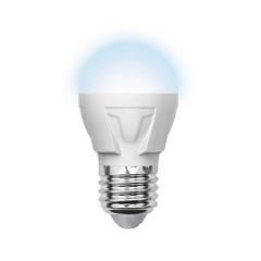 Лампа светодиодная (09444) E27 6W 3000K шар матовый LED-G45-6W/WW/E27/FR/S
