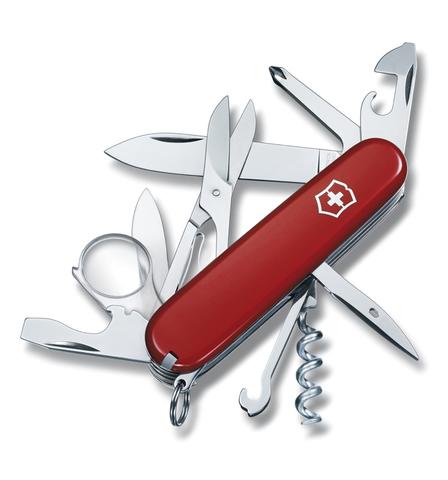 Нож Victorinox Explorer, 91 мм, 16 функций, красный*