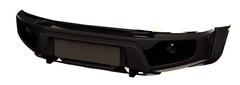 Бампер АВС-Дизайн передний UAZ Патриот/Пикап/Карго 2005- лифт (с оптикой)(черный)