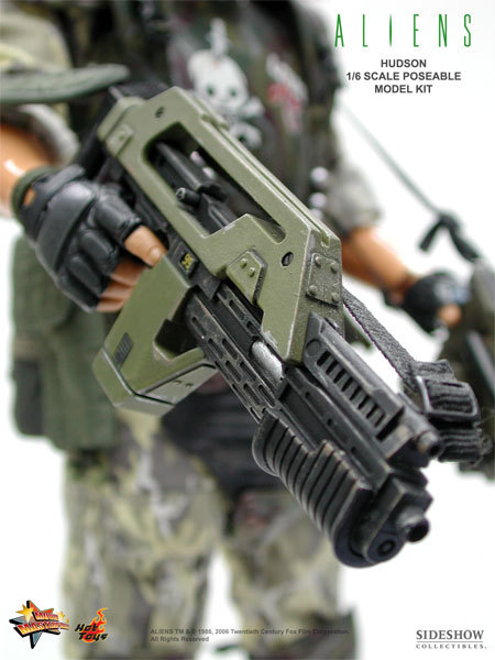 Aliens - USCM Private William Hudson 12 inch model kit